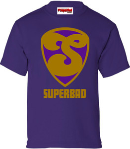 SuperBad Soulware Boys T-Shirt - S2 - Purple - GDPR