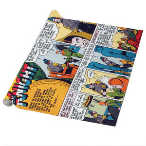 Vintage Black Heroes Wrapping Paper Sheets - Neil Knight - CST10 - Package Of 5