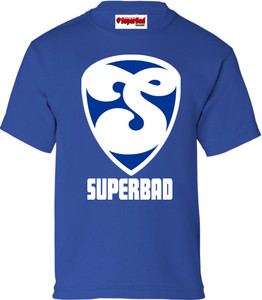 SuperBad Soulware Boys T-Shirt - S2 - Royal Blue - WBL