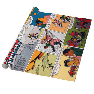 Vintage Black Heroes Wrapping Paper Sheets - Neil Knight - CST9 - Package Of 5