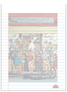 Afrotopia Notepad - Vintage Flower Shop