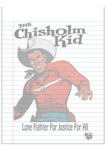 Vintage Black Heroes Notepad - The Chisholm Kid - 7