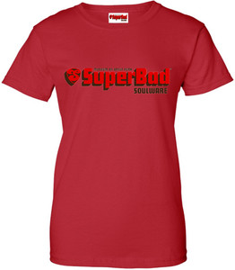 SuperBad Soulware Women's T-Shirt - Red