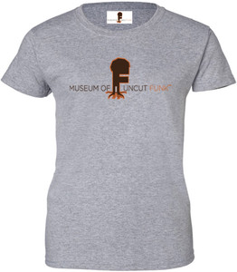 Museum Of UnCut Funk Women's T-Shirt -  Logo 1 - Sport Grey