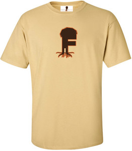 Museum Of UnCut Funk Men's T-Shirt -  Logo 2 - Vegas Gold