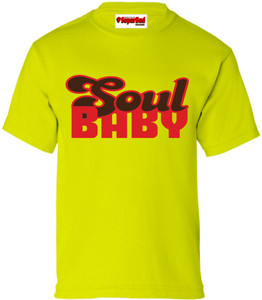 SuperBad Soulware Kids T-Shirt - Soul Baby - Lime Green - RBR