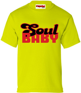 SuperBad Soulware Kids T-Shirt - Soul Baby - Lime Green - RB