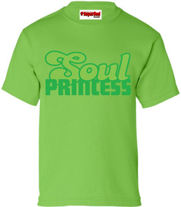 SuperBad Soulware Girls T-Shirt - Soul Princess - Green - DGG