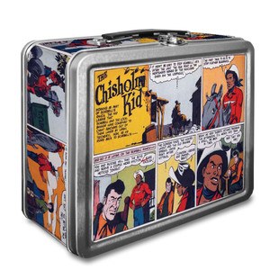 Vintage Black Heroes Lunchbox - The Chisholm Kid - CST6