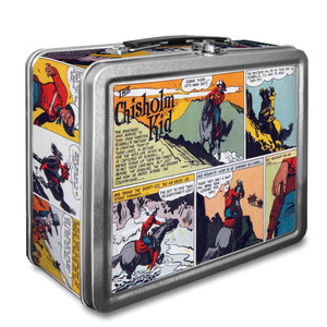 Vintage Black Heroes Lunchbox - The Chisholm Kid - CST7