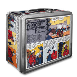 Vintage Black Heroes Lunchbox - The Chisholm Kid - CST8
