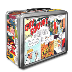 Vintage Black Heroes Lunchbox - Guy Fortune - CST1