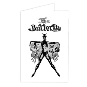 Vintage Black Heroines Greeting Cards - The Butterfly - 1 - Package Of 10