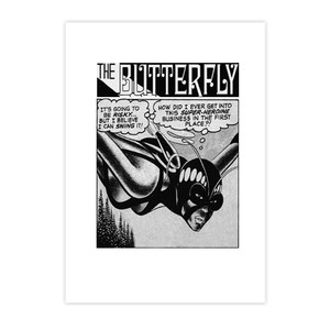 Vintage Black Heroines Postcards - The Butterfly - 3 - Package Of 10