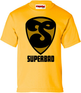 SuperBad Soulware Boys T-Shirt - S2 - Gold - BGD
