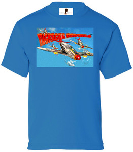Tuskegee Redtails Boys T-Shirt - 2 - Sapphire Blue