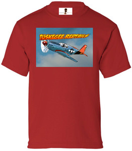 Tuskegee Redtails Boys T-Shirt - 3 - Red