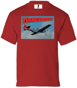 Tuskegee Redtails Boys T-Shirt - 4 - Red