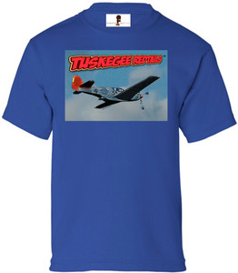 Tuskegee Redtails Boys T-Shirt - 4 - Royal Blue