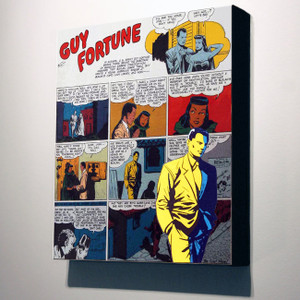 Vintage Black Heroes 14x12 Canvas - Guy Fortune - 4a