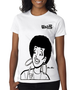 Fast Willie Jackson Women's T-Shirt - Dee Dee - 2B - White