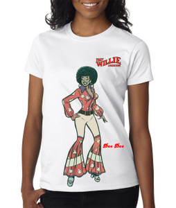 Fast Willie Jackson Women's T-Shirt - Dee Dee - 5A - White