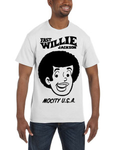 Fast Willie Jackson Men's T-Shirt - Fast Willie Jackson - 2C - White