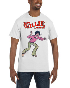 Fast Willie Jackson Men's T-Shirt - Fast Willie Jackson - 6 - White