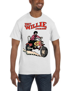 Fast Willie Jackson Men's T-Shirt - Fast Willie Jackson - 7 - White