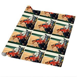 Afrotopia Wrapping Paper Sheets - Vintage Chess - Package Of 5