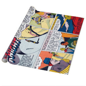 Vintage Black Heroes Wrapping Paper Sheets - Neil Knight - 13 - Package Of 5