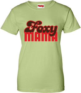 SuperBad Soulware Women's T-Shirt - Foxy Mama - Pistachio