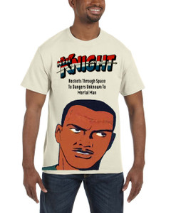 Vintage Black Heroes Men's T-Shirt - Neil Knight 2 - Natural