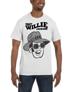 Fast Willie Jackson Men's T-Shirt - Frankie - 3A - White