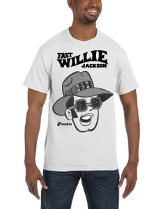 Fast Willie Jackson Men's T-Shirt - Frankie - 3B - White