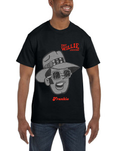 Fast Willie Jackson Men's T-Shirt - Frankie - 5B - Black