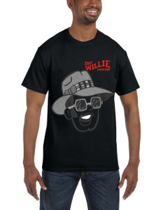 Fast Willie Jackson Men's T-Shirt - Frankie - 5C - Black