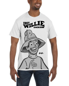 Fast Willie Jackson Men's T-Shirt - JoJo - 2B - White
