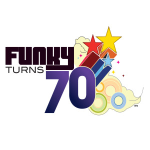 Funky Turns 70 Magnet
