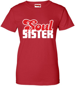 SuperBad Soulware Women's T-Shirt - Soul Sister - Red - WR