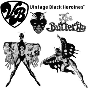 Vintage Black Heroines Magnet - The Butterfly