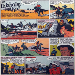 Vintage Black Heroes Magnet - The Chisholm Kid - CST3