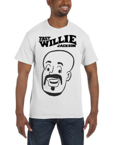 Fast Willie Jackson Men's T-Shirt - Hannibal - 1C - White