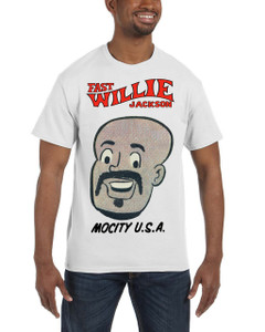 Fast Willie Jackson Men's T-Shirt - Hannibal - 3A - White