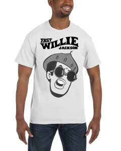 Fast Willie Jackson Men's T-Shirt - Jabar - 1B - White
