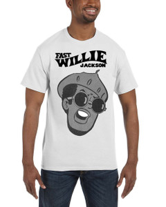 Fast Willie Jackson Men's T-Shirt - Jabar - 1C - White