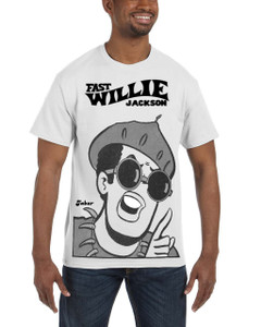 Fast Willie Jackson Men's T-Shirt - Jabar - 5B - White