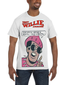 Fast Willie Jackson Men's T-Shirt - Jabar - 7 - White