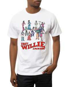 Fast Willie Jackson Men's T-Shirt - Gang - 2 - White