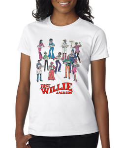 Fast Willie Jackson Women's T-Shirt - Gang - 2 - White